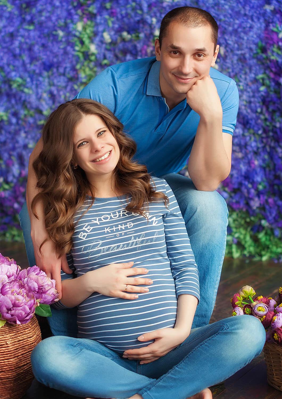 беременность 8