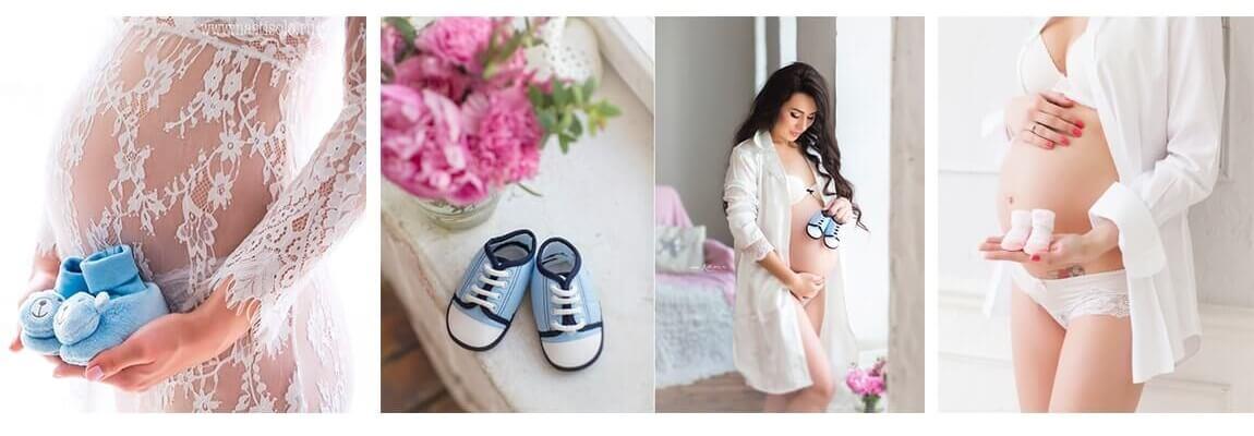 что взять на фотосессию беременной