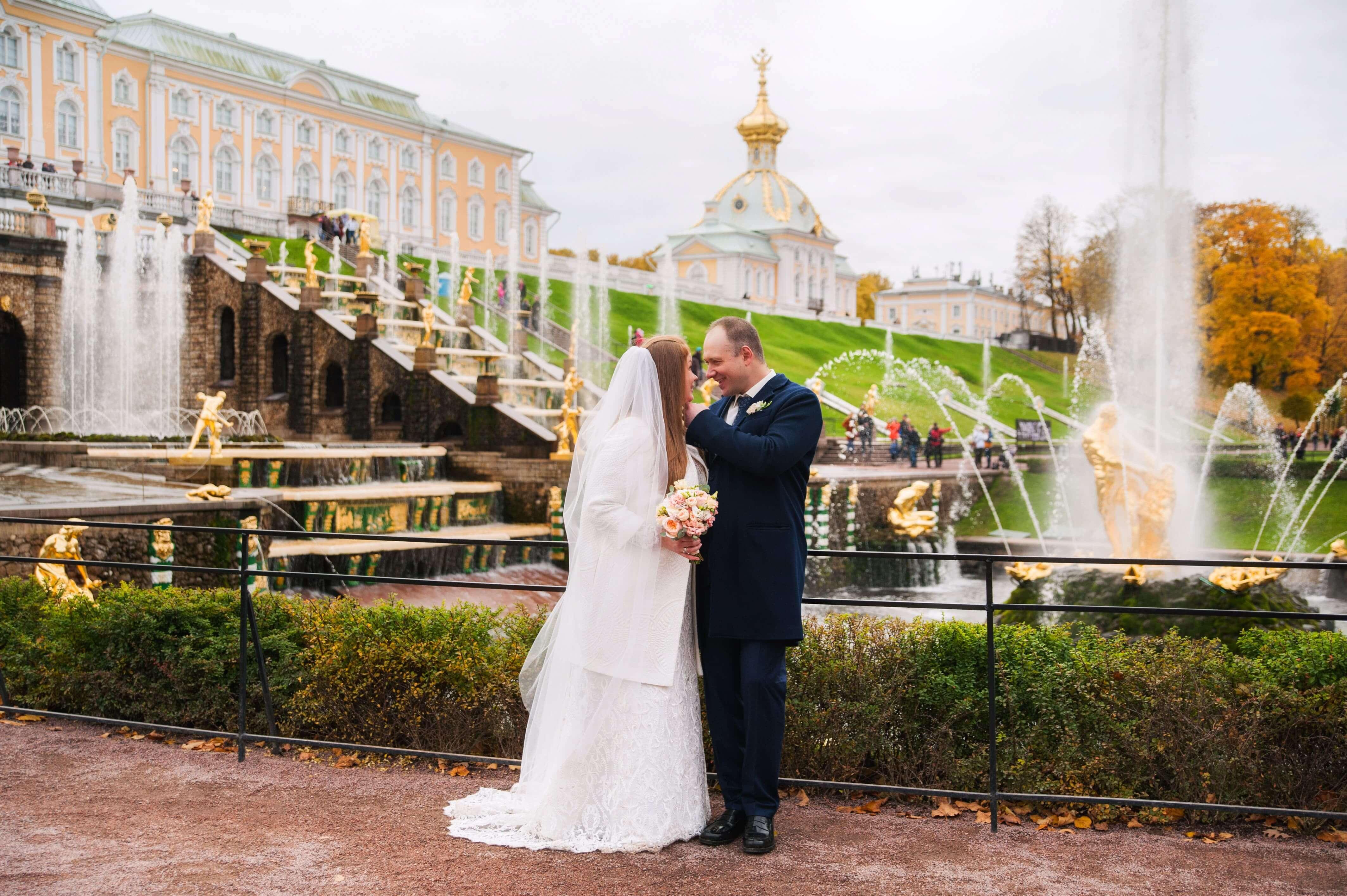 Фотосессия в Петергофе Санкт-Петербург